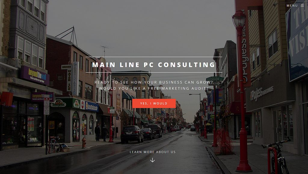 Main Line PC Consulting Web Design